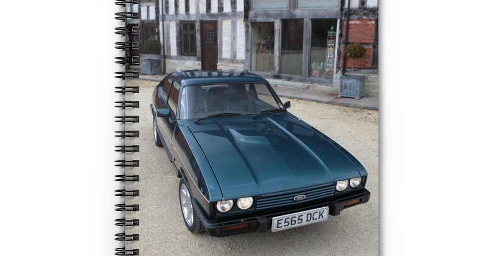 Ford Capri Spiral Notebook