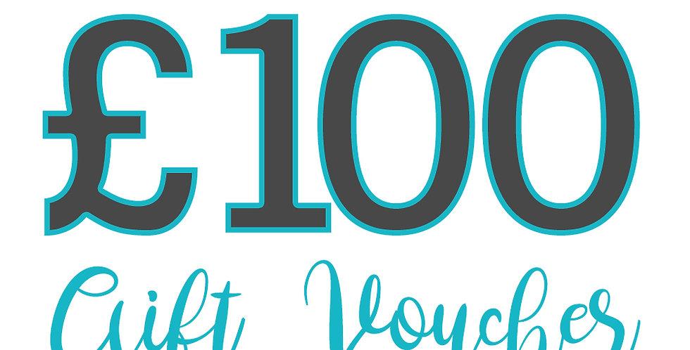 £100 experience voucher