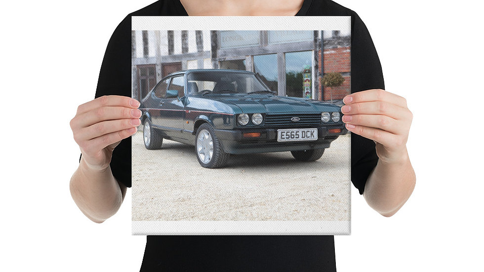 Ford Capri Canvas Print