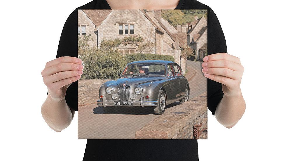 Jaguar Mk2 Canvas Print