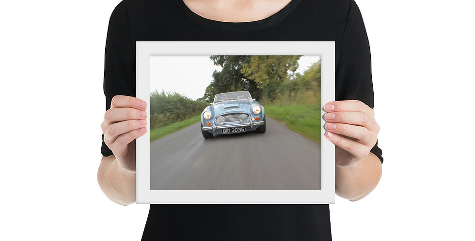 HMC Healey Framed Print