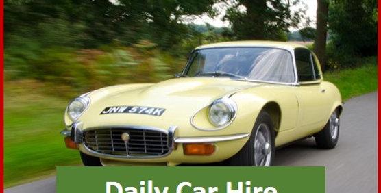 Jaguar E Type - 24 hrs midweek