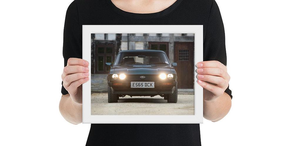 Ford Capri Framed Poster 2