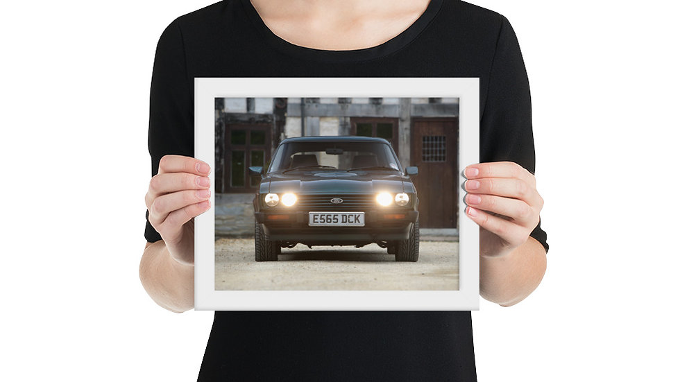 Ford Capri Framed Poster 2