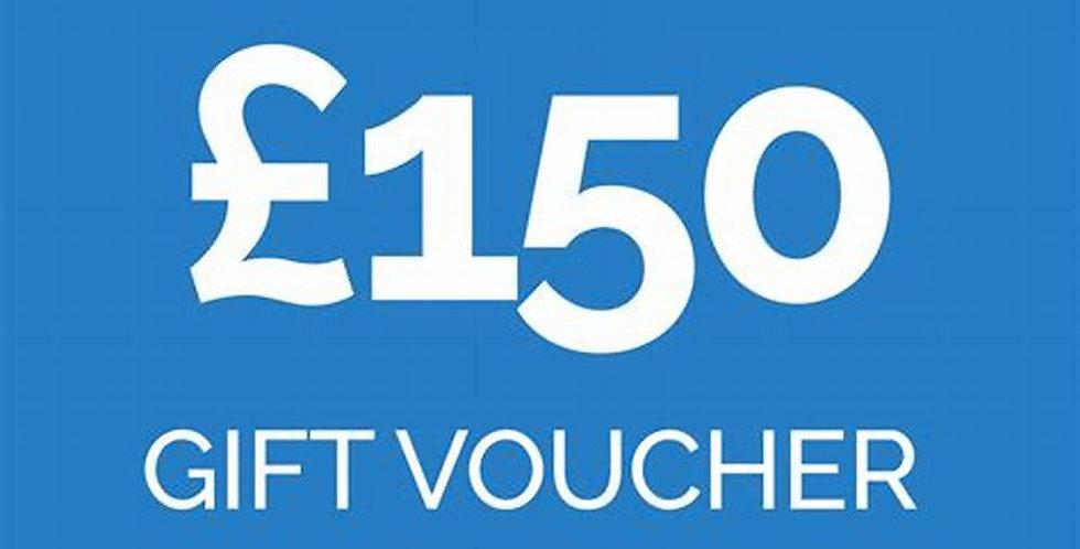 £150 experience voucher