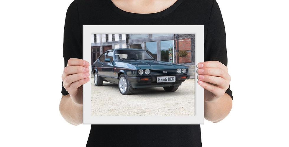 Ford Capri Framed Poster 1