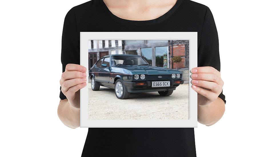 Ford Capri Framed Poster 1