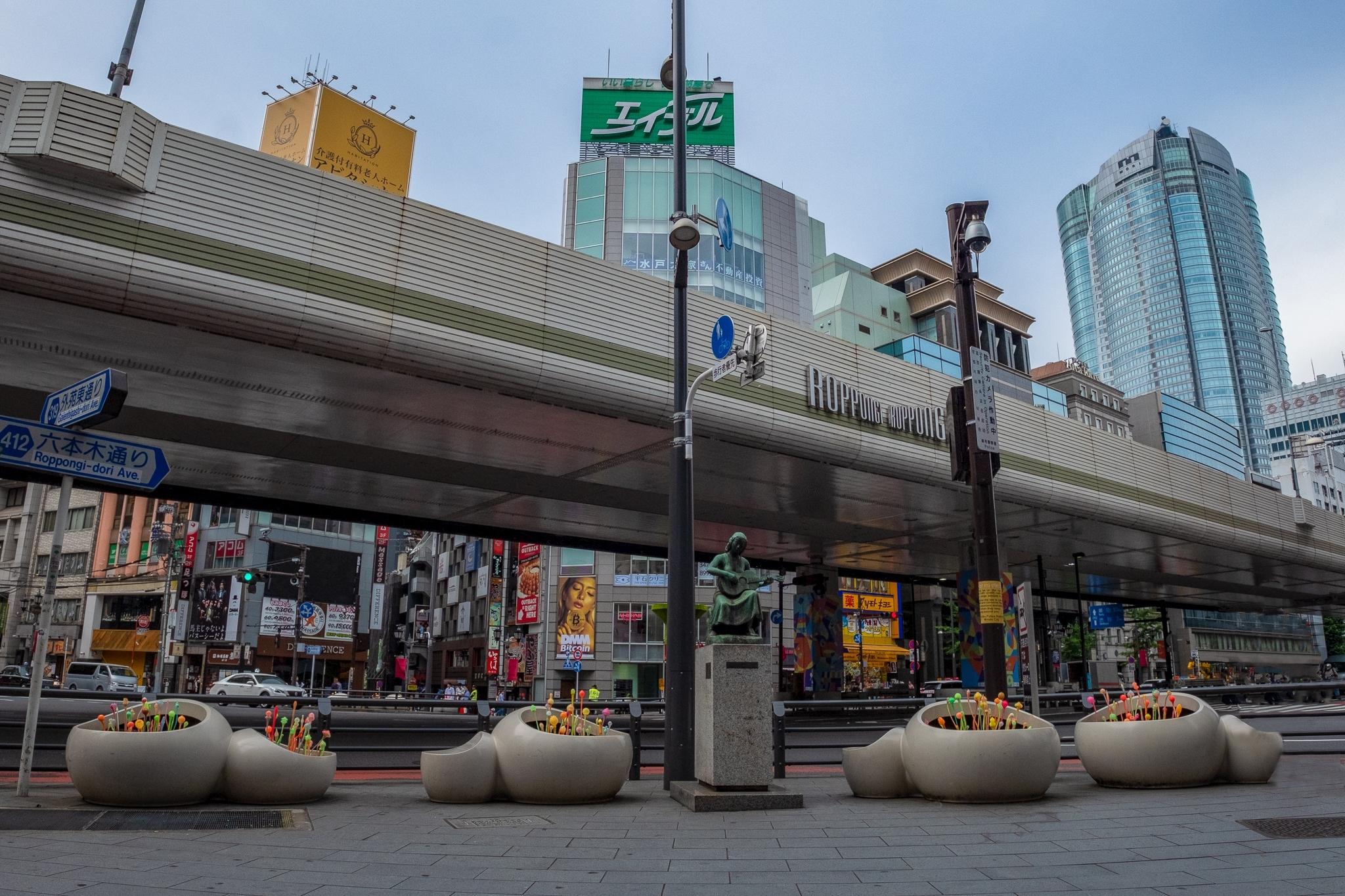 六本木アートナイト2018 六本木交差点