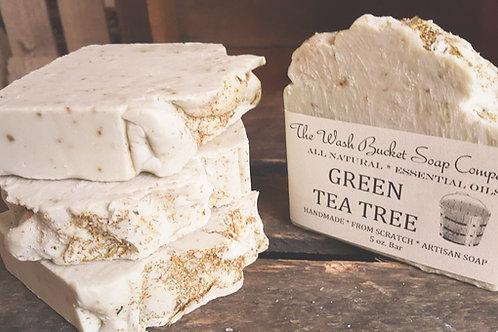 Green Tea Tree Soap