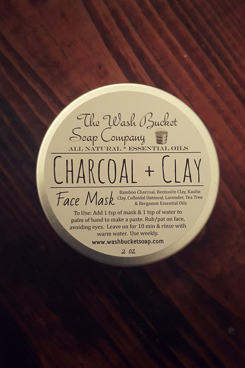 Charcoal & Clay Face Mask