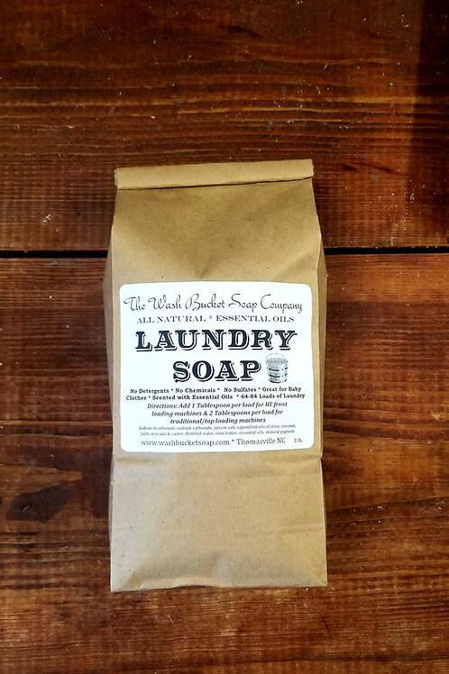 Laundry Soap 3 lb Refill Bag