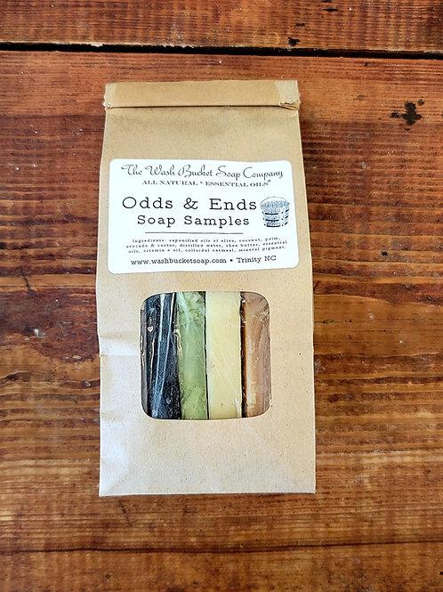 Odds & Ends Soap Samples
