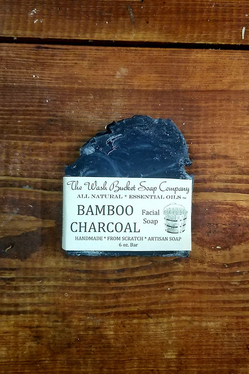 Bamboo Charcoal Facial Soap