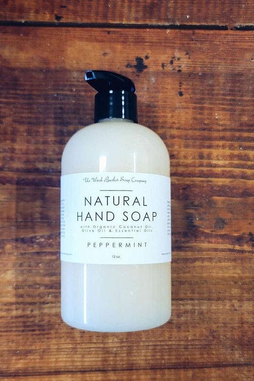 Liquid Natural Hand Soap