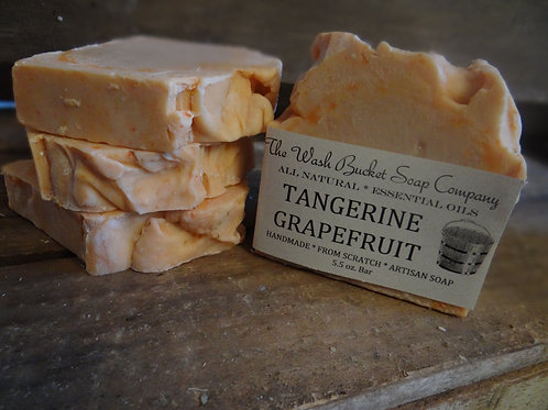 Tangerine Grapefruit Soap