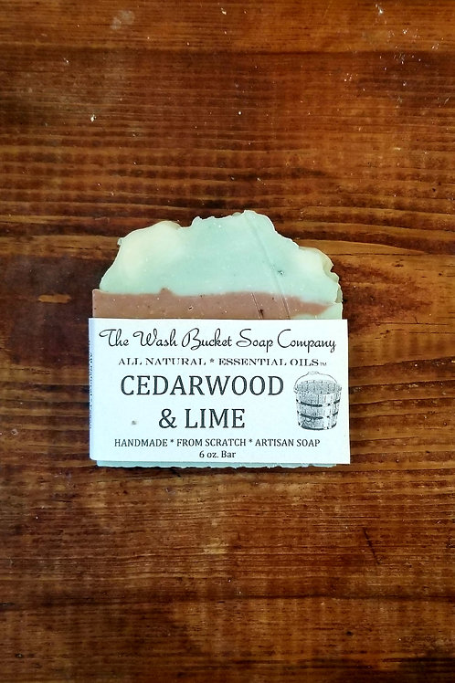 Cedarwood & Lime Soap