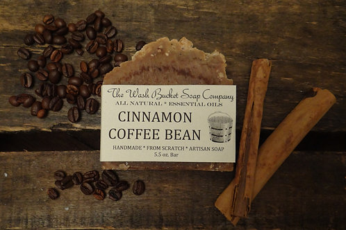 Cinnamon Coffee Bean Soap