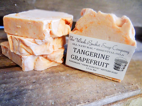 Tangerine Grapefruit Soap