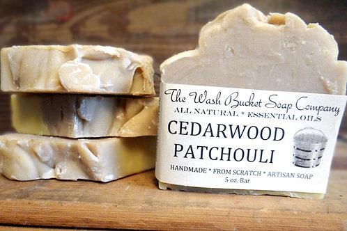 Cedarwood Patchouli Soap