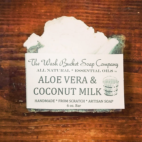 Aloe Vera & Coconut Milk  Soap