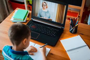 Distance learning online education. A sc