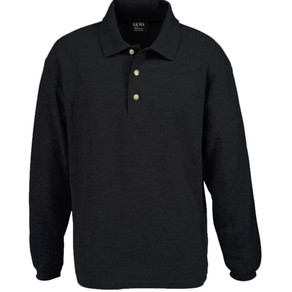 AllAmericanClothing AKWA Long Sleeve Pique Cotton Polo (Multiple Sizes)