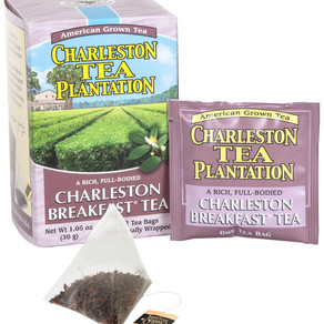 BigelowTea CharlestonTeaPlantation Charleston Breakfast Black Tea Teabags / Loose Leaf (12count box)