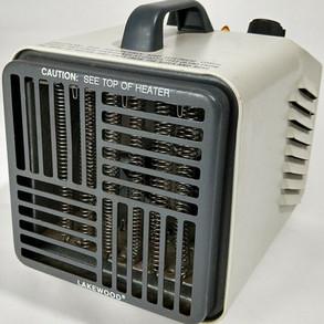 LakewoodEngineering&MfgCo Vintage Model 707 Compact 1500watt Space Heater