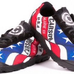 Carson Stars And Stripes Running Shoes
