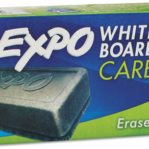 Rubbermaid Expo Dry Erase WhiteBoard Eraser (#81505)