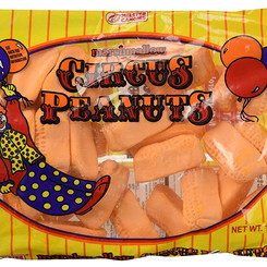 ImpactConfectionsInc MelsterCandies Marshmallow Circus Peanuts Candy (Multiple Sizes)