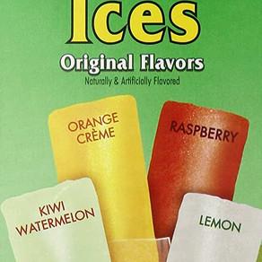 JelsertCompany Wyler's Authentic Italian Ice Original Flavors Freeze And Serve Bars (Multiple Sizes)