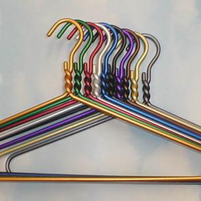 DodcoInc Anodized Aluminum Garment Hangers (11 colors)