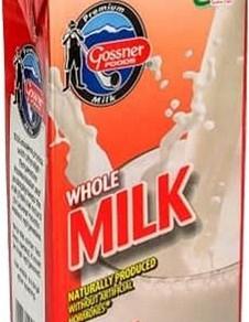 GossnerFoodsInc All Natural UHT Pasteurized Whole Milk (32 Fl oz Carton)