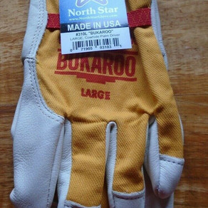 NorthStarGloveCo Bukaroo Leather Cowhide Work Gloves