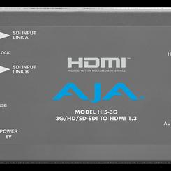 AJA Model Hi5-3G SDI To HDMI Audio Video Converter Box