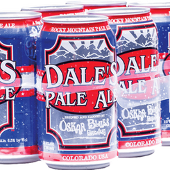 OskarBluesBreweryLLC Dale's Rocky Mountain Pale Ale 6.5% ABV (Multiple Sizes)