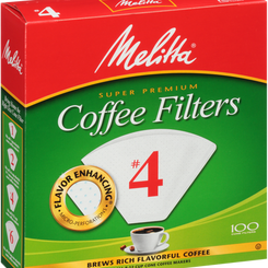 MelittaUSAInc Super Premium Coffee Filters with Measure Markings (Multiple Sizes / Varieties)