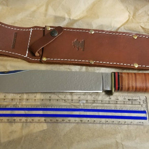 Winchester WB-0104 Trailmaker Bowie Knife And Sheath