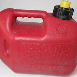 Blitz Vintage Gasoline Container with Spout (1gal,4oz can)