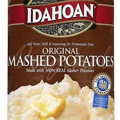 IdahoanFoodsLLC Original 100% Real Idaho Instant Mashed Potatoes Mix (Multiple Sizes)