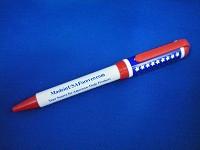 MadeInUSAForever Red White & Blue Logo Pen
