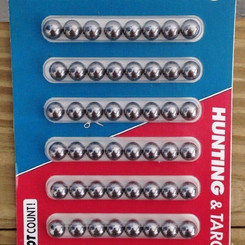 TrumarkInc Hunting And Target Practice Steel Ball Slingshot Ammo (Multiple Sizes / Shapes)