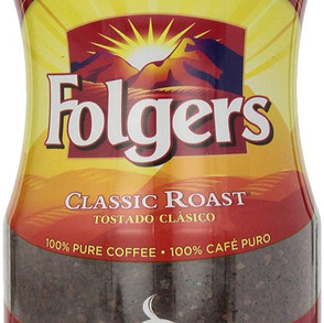 JMSmuckerCo TheFolgerCoffeeCompany Classic Roast / Decaf Instant Coffee Crystals (Multiple Sizes)