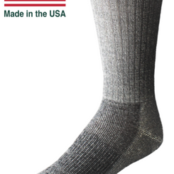 EchoGorge Merino Wool Mid-Weight Performance Crew Socks (Multiple Colors)