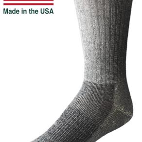 EchoGorge Merino Wool Mid-Weight Performance Crew Socks (Multiple Colors)