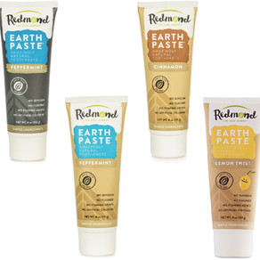 RedmondLife Earthpaste Natural Glycerin/Fluoride Free Toothpaste (Multiple Flavors)