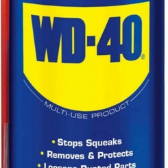 WD40 Aerosol Spray Multi-Use Lubricant Travel Size Handy-Can (3oz)