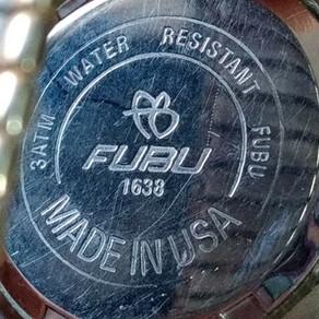 Fubu 3atm Water Resistant Wrist Watch (Multiple Models)