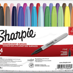 Newell Rubbermaid Sharpie Classic Fine Point Permanent Marker (Multiple Colors)